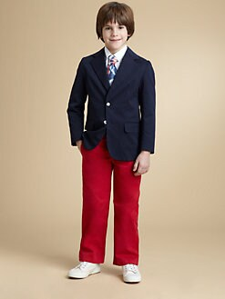 Oscar de la Renta - Toddler & Little Boy's Single-Breasted Blazer