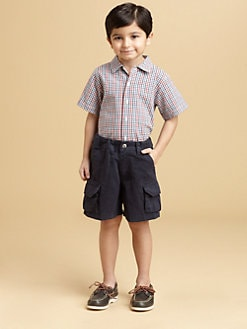 Oscar de la Renta - Toddler's & Little Boy's Checked Woven Shirt