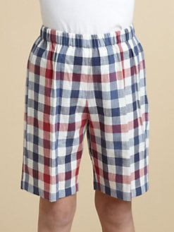 Oscar de la Renta - Toddler's & Little Boy's Linen-Blend Shorts