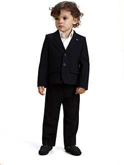 Armani Junior - Toddler's & Little Boy's Stretch Wool Suit