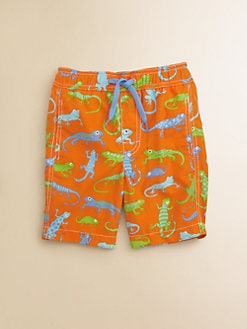 Hatley - Toddler's & Little Boy's Crazy Lizards Swim Trunks