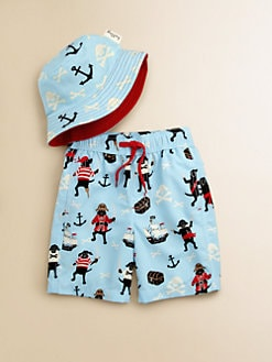 Hatley - Toddler's & Little Boy's Flying Pirate Dogs Hat