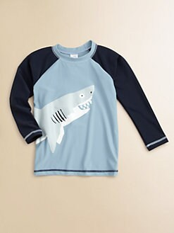 Hatley - Toddler's & Little Boy's Sharks Rash Guard Top
