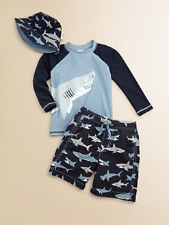Hatley - Toddler's & Little Boy's Sharks Sun Hat