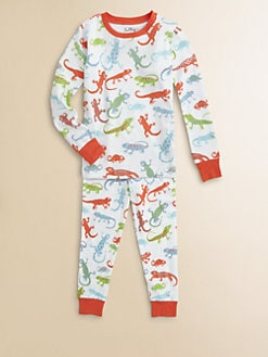 Hatley - Toddler's & Little Boy's Crazy Lizard Pajama Set