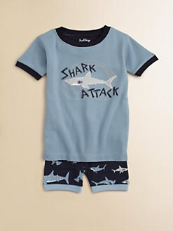 Hatley - Toddler's & Little Boy's Shark Attack Pajama Set