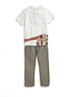 Diesel - Little Boy's Tool Belt Tee