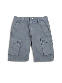 Diesel - Toddler's & Little Boy's Gabardine Cargo Shorts