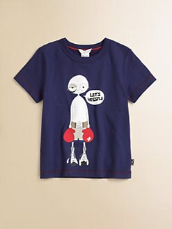 Little Marc Jacobs - Toddler's & Little Boy's Let's Wrestle Tee
