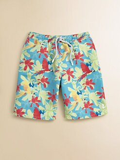 Retromarine - Toddler's & Little Boy's Parrot Swim Trunks