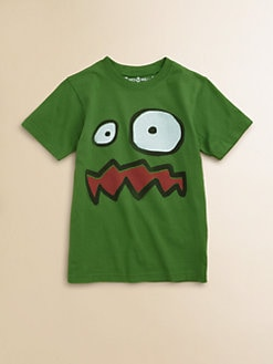 Wes & Willy - Toddler's & Little Boy's Monster Face Tee