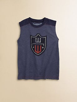 Wes & Willy - Toddler's & Little Boy's Sleeveless Tee
