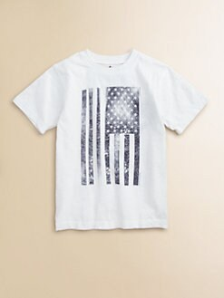 Wes & Willy - Toddler's & Little Boy's Flag Tee Shirt