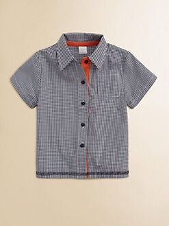 Egg Baby - Toddler's & Little Boy's Woven Gingham Shirt