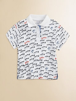 Egg Baby - Toddler's & Little Boy's Fish Print Polo