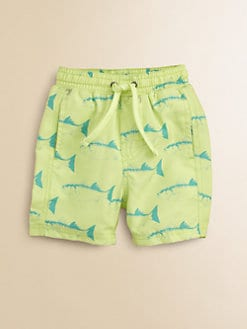 Egg Baby - Toddler's & Little Boy's Print Swim Trunks