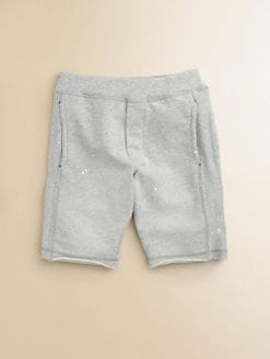 Diesel - Little Boy's Logo Sweat Shorts