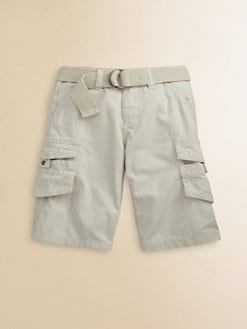 DKNY - Toddler's & Little Boy's Ripstop Cargo Shorts/Stone