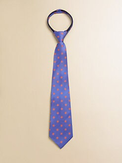Hartstrings - Toddler's & Little Boy's Dotted Silk Tie