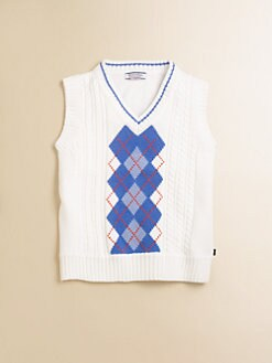 Hartstrings - Toddler's & Little Boy's Argyle Sweater Vest