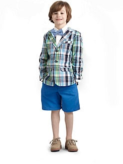 Hartstrings - Toddler's & Little Boy's Plaid Blazer