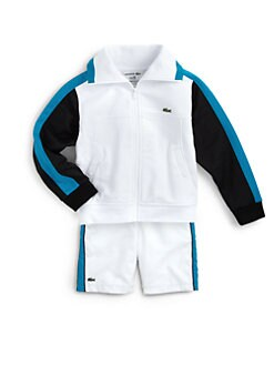 Lacoste - Toddler & Little Boy's Andy Roddick Full Zip Track Jacket