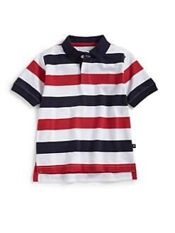 Hartstrings - Toddler's & Little Boy's Striped Polo Shirt