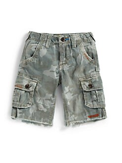 True Religion - Toddler's & Little Boy's Recon Camo Cargo Shorts
