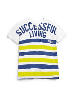 Diesel - Little Boy's Successful Living Tee