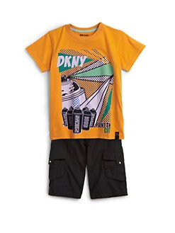 DKNY - Toddler's & Little Boy's Rack City Tee
