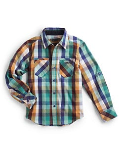 DKNY - Toddler's & Little Boy's Plaid Shirt