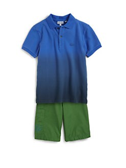 Lacoste - Toddler's & Little Boy's Dip Dye Piqué Polo Shirt