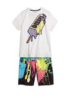 Diesel - Little Boy's Tosay Ice Cream Tee