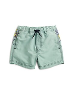 Diesel - Little Boy's Medos Floral Swim Trunks