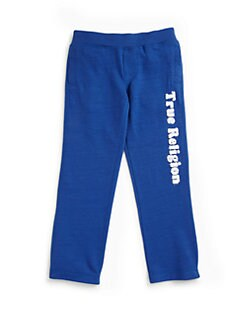 True Religion - Toddler's & Little Boy's Echo Park Slub Terry Pants
