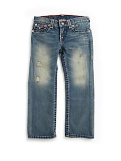 True Religion - Toddler's & Little Boy's Jack Super-T Slim Fit Jeans