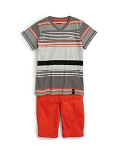 DKNY - Toddler's & Little Boy's Sunset Striped Tee