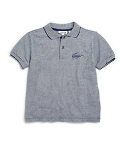 Lacoste - Toddler's & Little Boy's Jacquard Polo Shirt