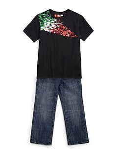 PUMA Ferrari - Toddler's & Little Boy's 1100 Graphic Tee