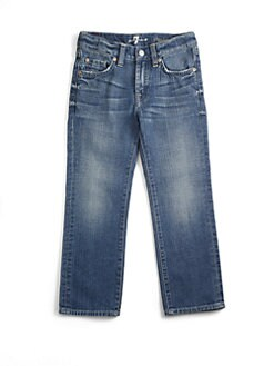 7 For All Mankind - Toddler's & Little Boy's Medium-Wash Jeans