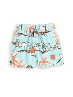 Vilebrequin - Little Boy's Father's Day Swim Trunks