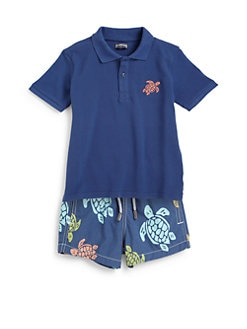 Vilebrequin - Little Boy's Pique Polo Shirt