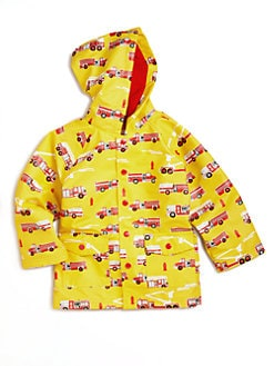 Hatley - Toddler's & Little Boy's Fire Truck Raincoat