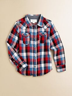 Diesel - Toddler's & Little Boy's Multi-Colored Button-Down Shirt