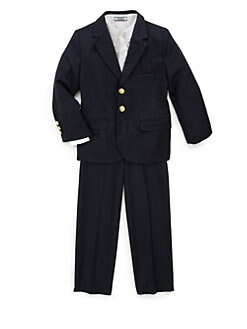 Hartstrings - Toddler's & Little Boy's 1600 Woven Blazer