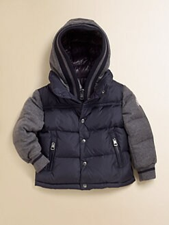 Moncler - Toddler's & Little Boy's Two-Tone Puffer Jacket