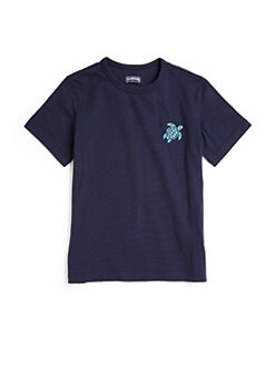 Vilebrequin - Little Boy's Cotton Turtle Tee
