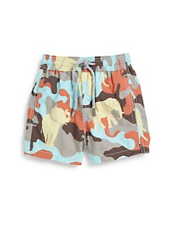 Vilebrequin - Little Boy's Camo Swim Trunks