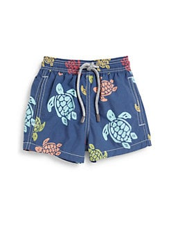 Vilebrequin - Little Boy's Turtle Swim Trunks