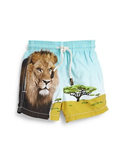Vilebrequin - Little Boy's Lion Swim Trunks